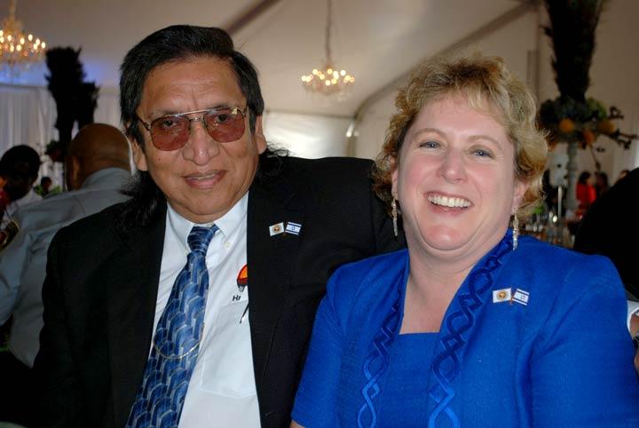 Bertney & Linda Langley, Indigenous Symposium Tulane University