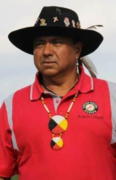 "Chief August ""Cocoa"" Creppel, Indigenous Symposium"
